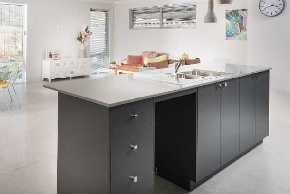 Stone Benchtops to Kitchen are inclusions of select Move Homes house and land Perth packages
