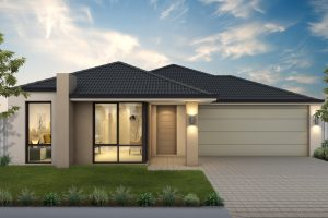 Exterior of the St Lucia by Perth home builders, Move Homes'