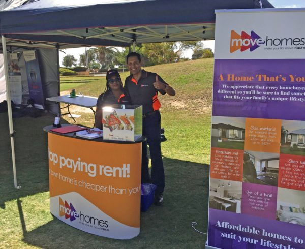 Move Homes at the Jambo Festival