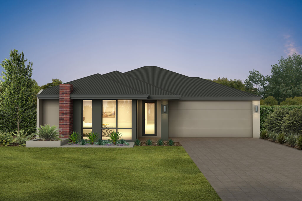 The Capri, a new home design by Move Homes for Perth families and first time home buyers