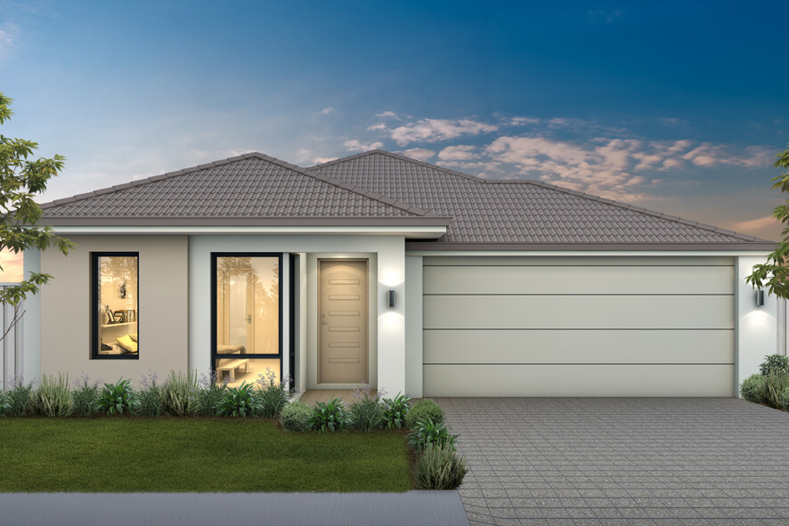 The Corsica, a new home design by Move Homes for Perth families and first time home buyers