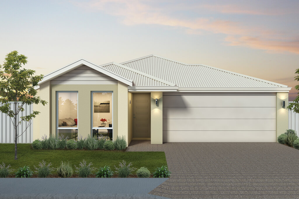 The Formentera, a new home design by Move Homes for Perth families and first time home buyers