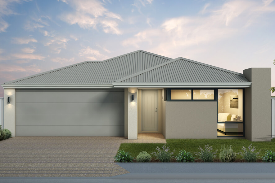 The Majorca, a new home design by Move Homes for Perth families and first time home buyers