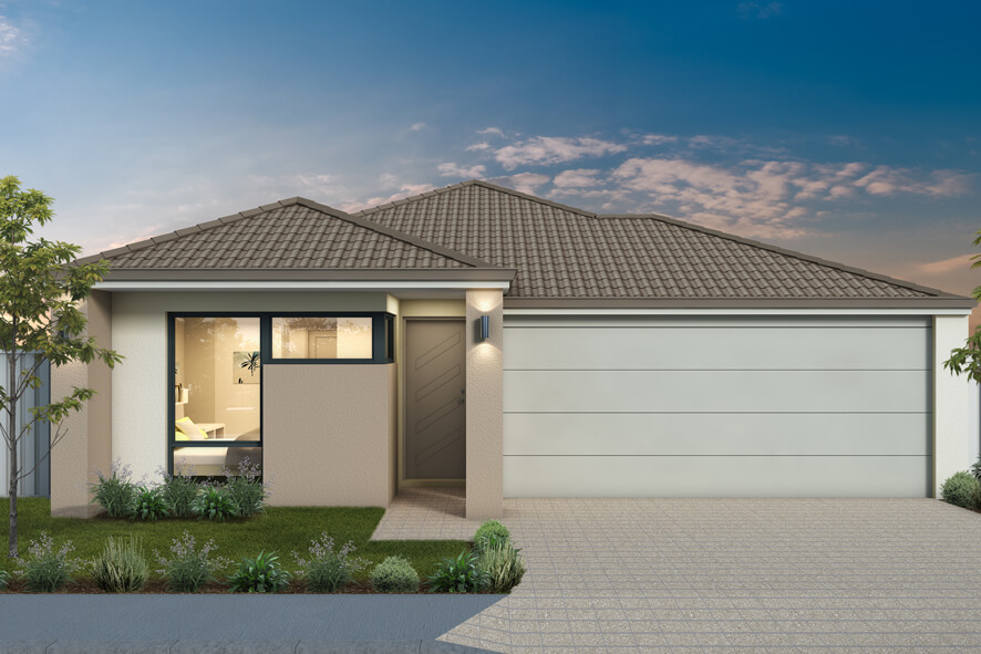 The Maui, a new home design by Move Homes for Perth families and first time home buyers