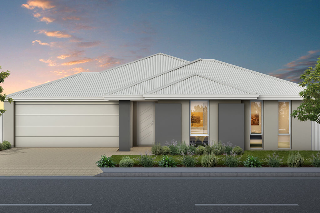 The Montana, a new home design by Move Homes for Perth families and first time home buyers