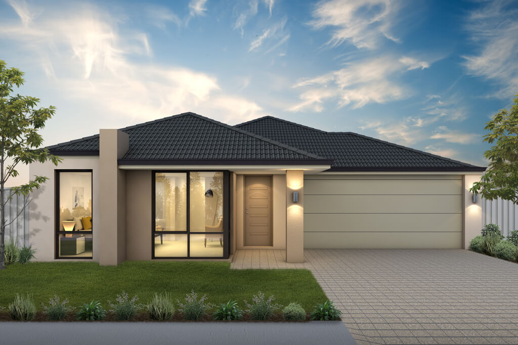 The St Lucia, a new home design by Move Homes for Perth families and first time home buyers