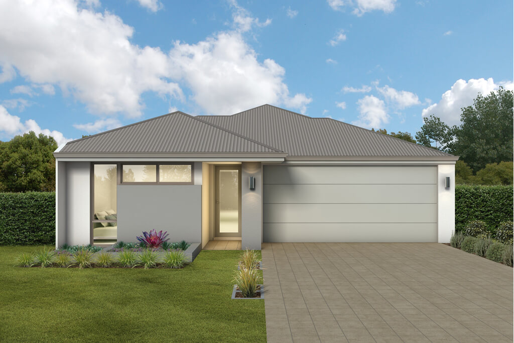 The Mindanao, a new home design by Move Homes for Perth families and first time home buyers