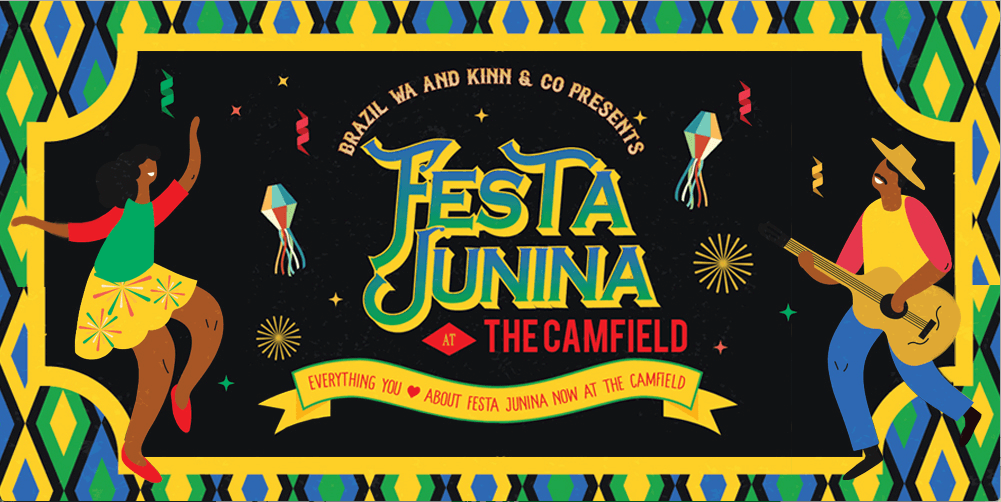 Festa Junina at the Camfield event graphic