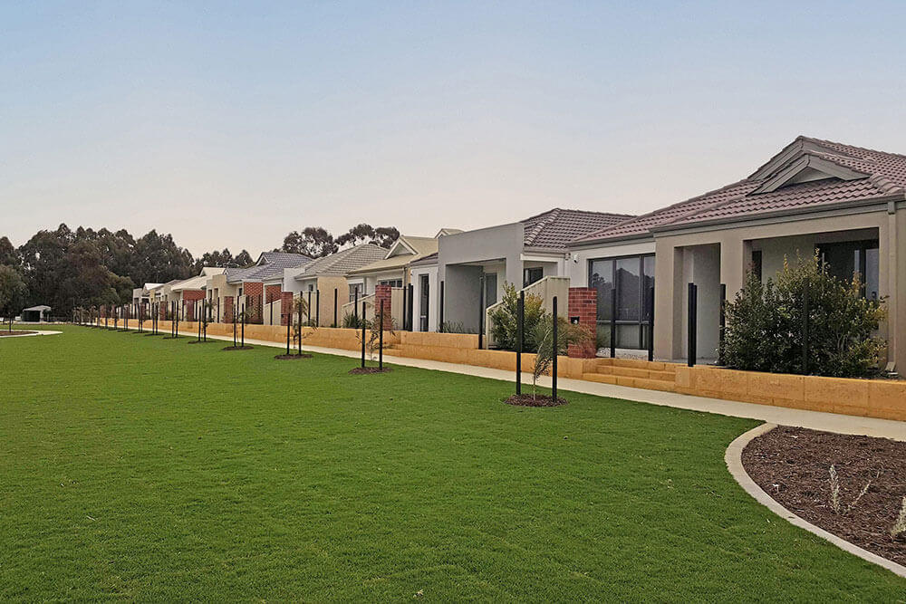 Houses within the Peregrine Estate in Piara Waters where Move Homes has house and land packages for Perth families