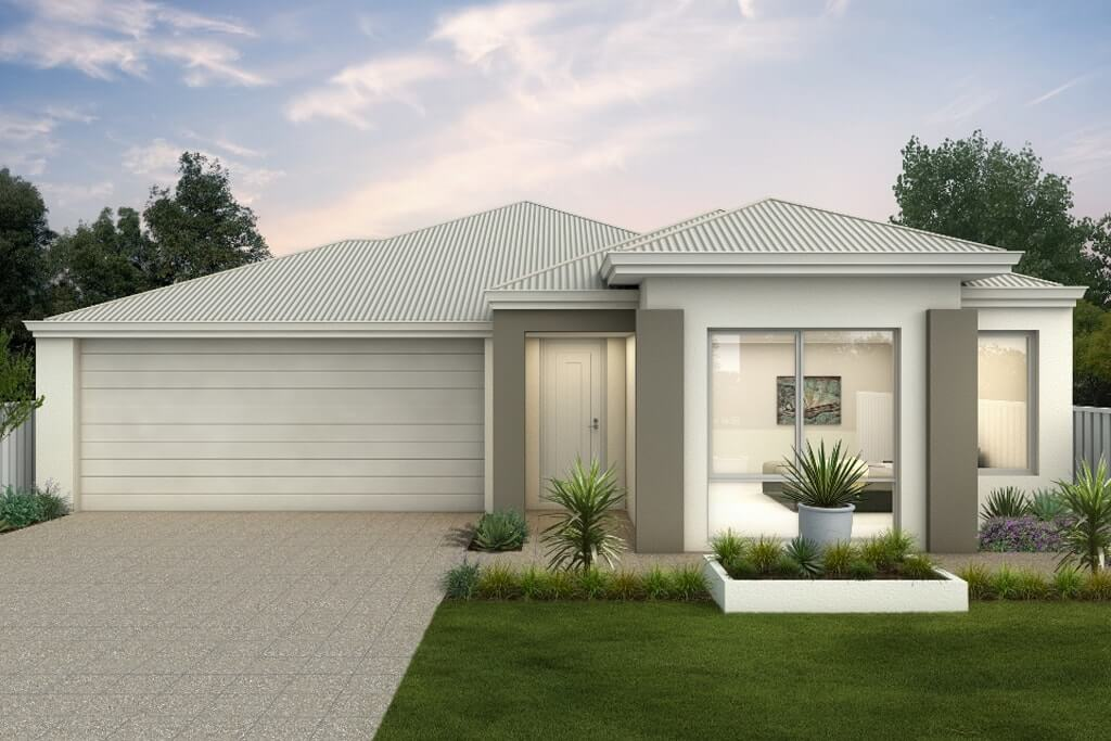The Dartmoor, a new home design by Move Homes for Perth families and first time home buyers
