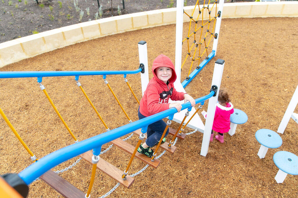 Playground in Piara Waters Park nearby to the available Move Homes' house and land packages