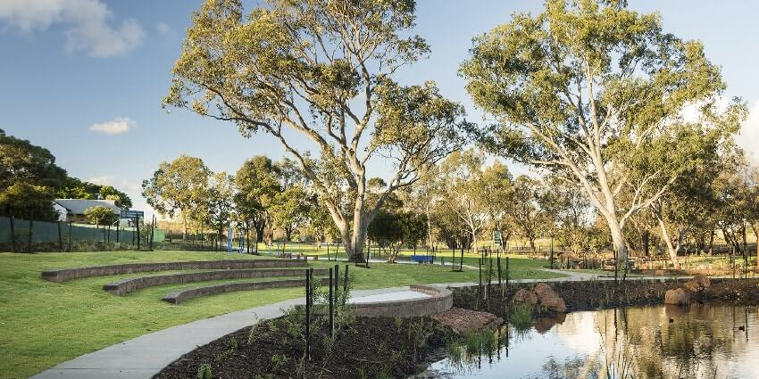 Rosehill Water Estate in South Guildford where Move Homes has house and land packages available