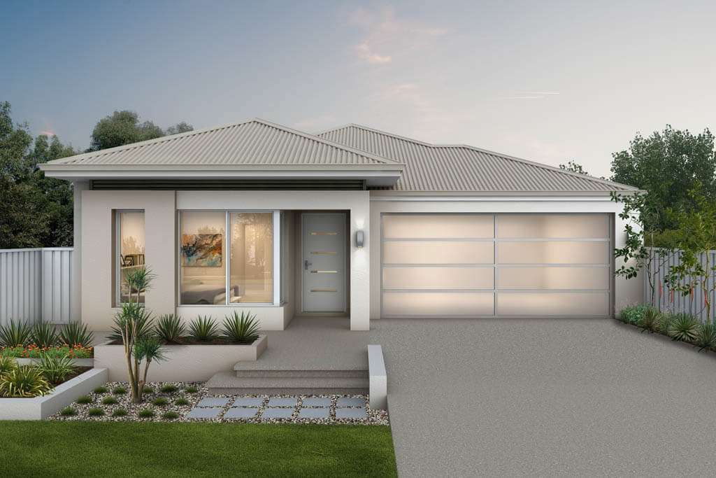 The Europa, a new home design by Move Homes for Perth families and first time home buyers