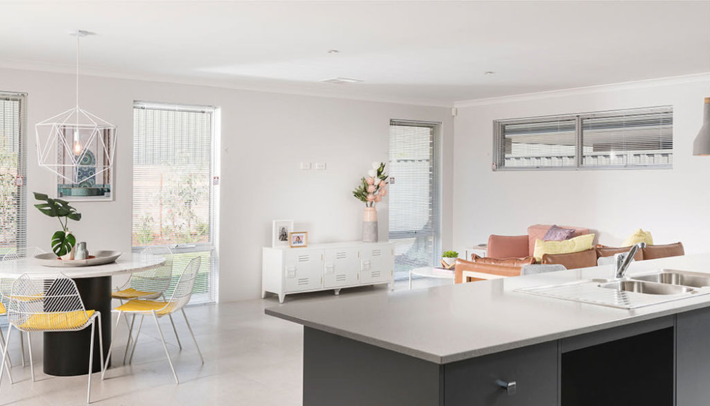 Kitchen in Move Homes' Rosehill Water display on Serpentine Drive, South Guildford