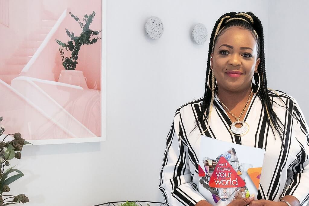 Move Homes' new homes sales consultant, Marie Odongo