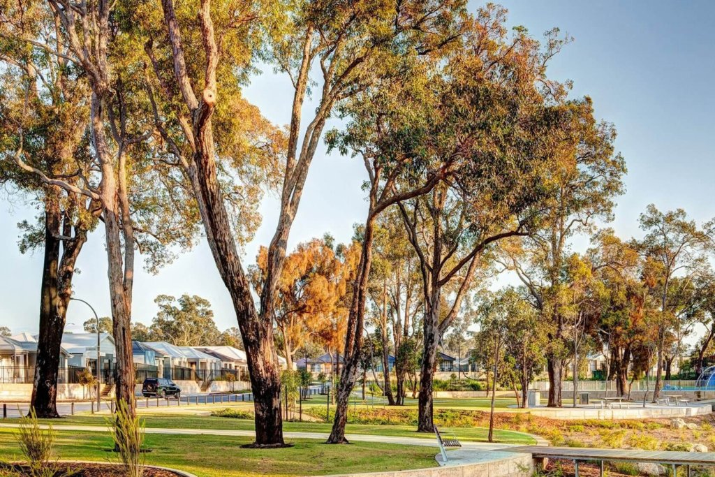 A park in Wellard where Move Homes offers affordable house and land packages for new home buyers in Perth