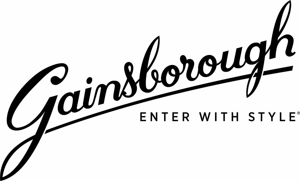 Logo for Gainsborough, door hardware supplier for Move Homes