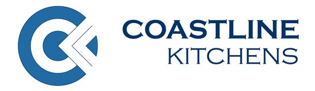 Logo for Coastline Kitchens, independent cabinet maker supplier for Move Homes