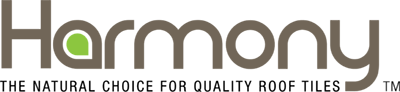 Logo for Harmony, a roof tile supplier for Move Homes