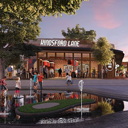 Kingsford Estate will have a new town centre and new homes