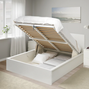 Ikea bed with storage
