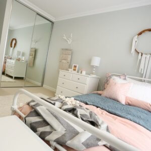 Home designs in Perth by Move Homes can come with sliding built-in robes