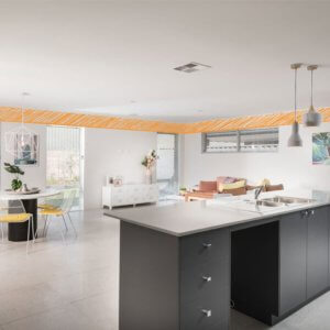 High ceilings in your brand new Move Homes design helps your home look bigger