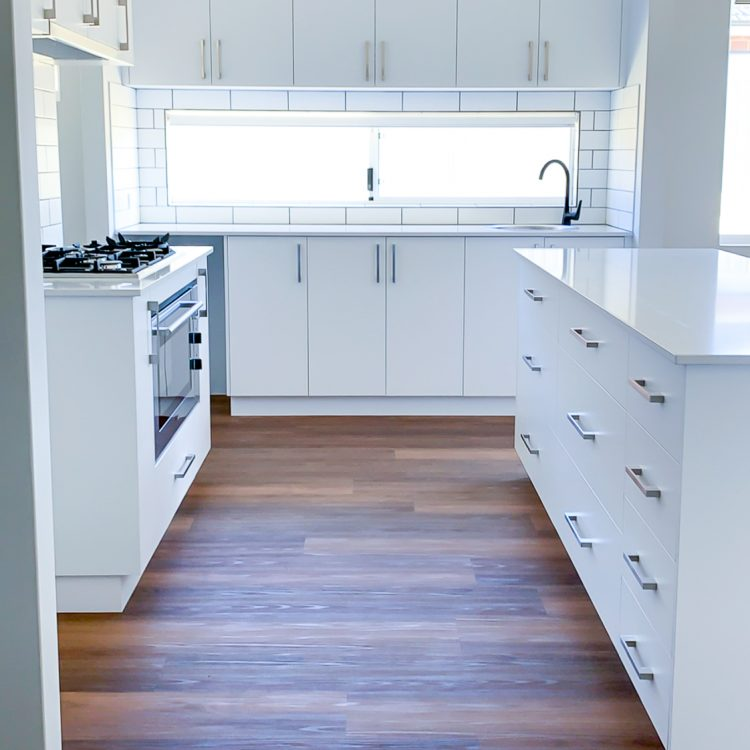 A custom kitchen for a Move Homes build in Hammond Park