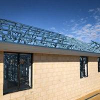 Brick Veneer Home by Move Homes using their Prime Brick Steel construction method