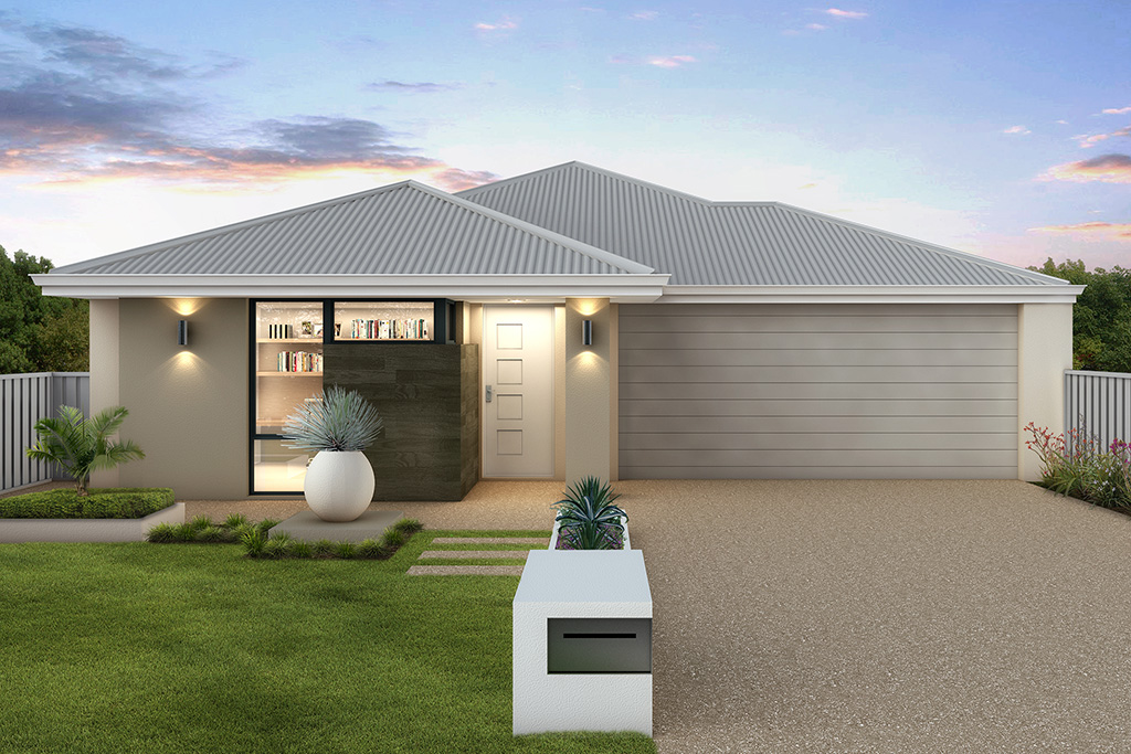 The Barbados, a new home design by Move Homes for Perth families and first time home buyers