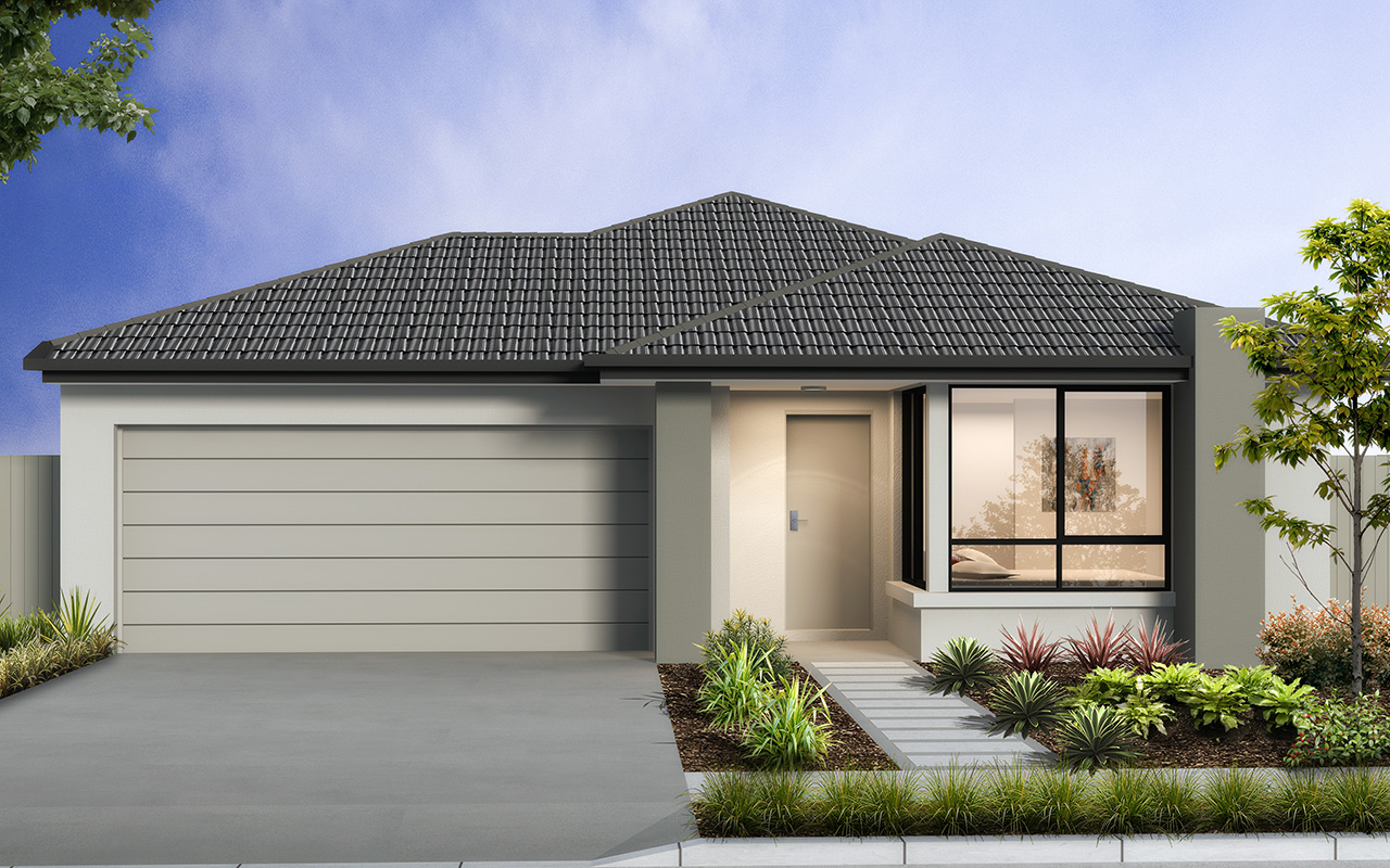 The Bora Bora, a new home design by Move Homes for Perth families and first time home buyers
