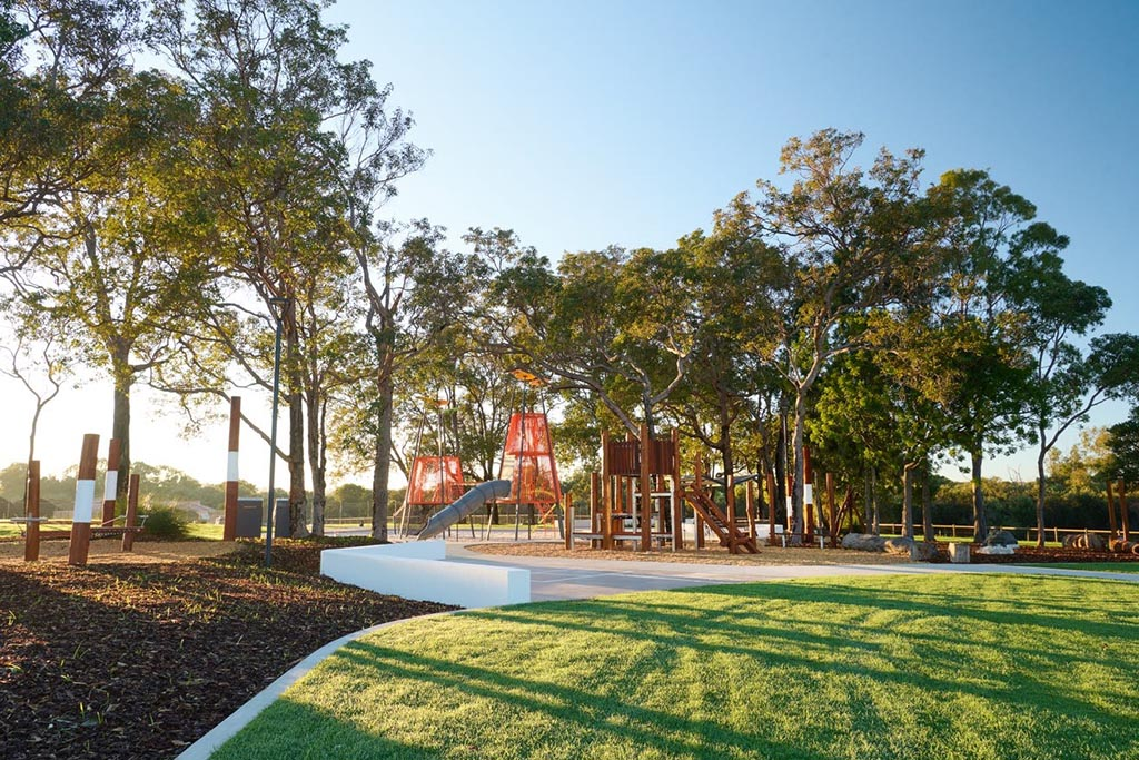 New park in Myella Estate in Wanneroo