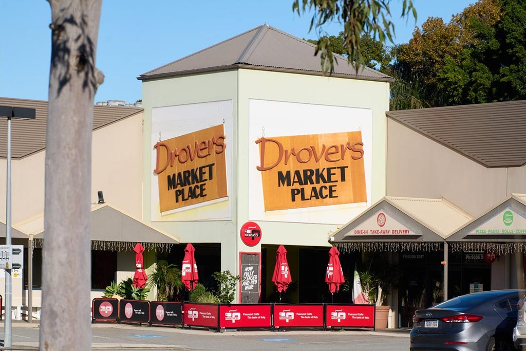 Drovers Market Place outdoor shot