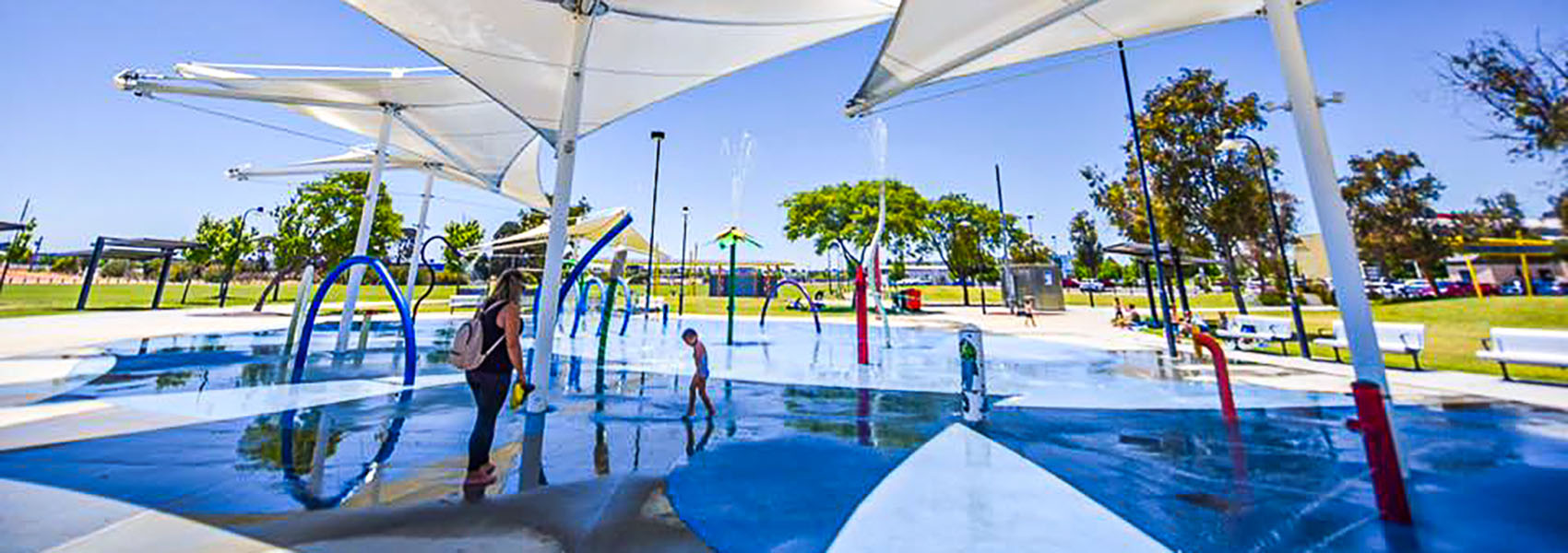 Rainbow Waters park is a great place for Perth families to spend the day