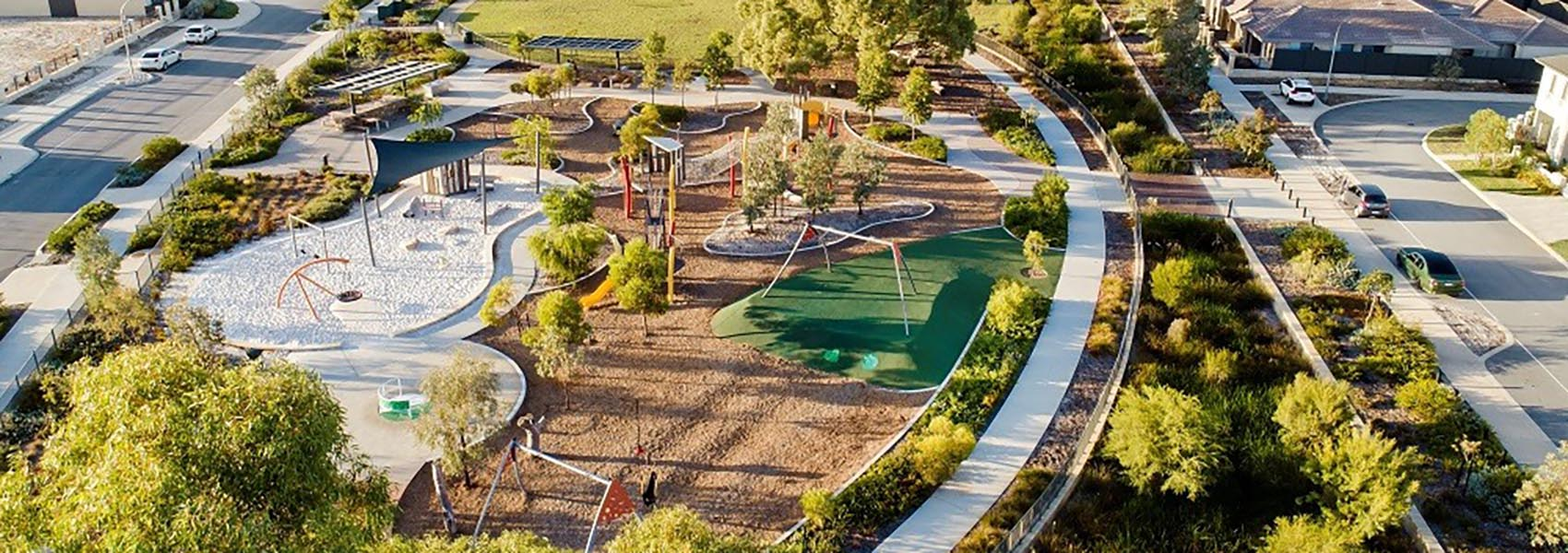 Jungle Park playground in Brabham in the Swan Valley is one of Perth's best parks