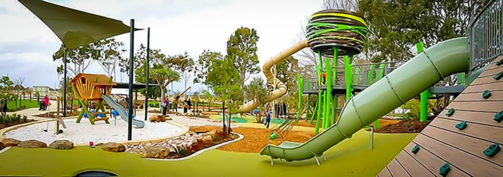 Jungle Park in Brabham is one of Perth's best playgrounds for kids and families
