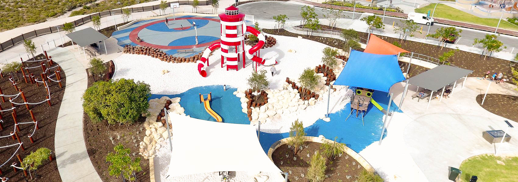 Lighthouse Park in Amberton Beach in Perth's north is best for young kids and families