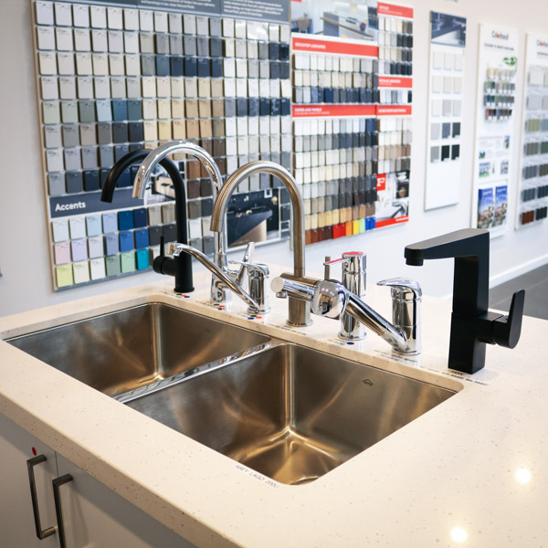types of faucets available in new builds from Move Homes