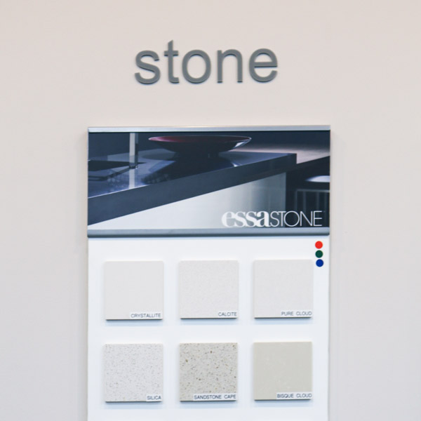 stone colours and textures available in new builds from Move Homes