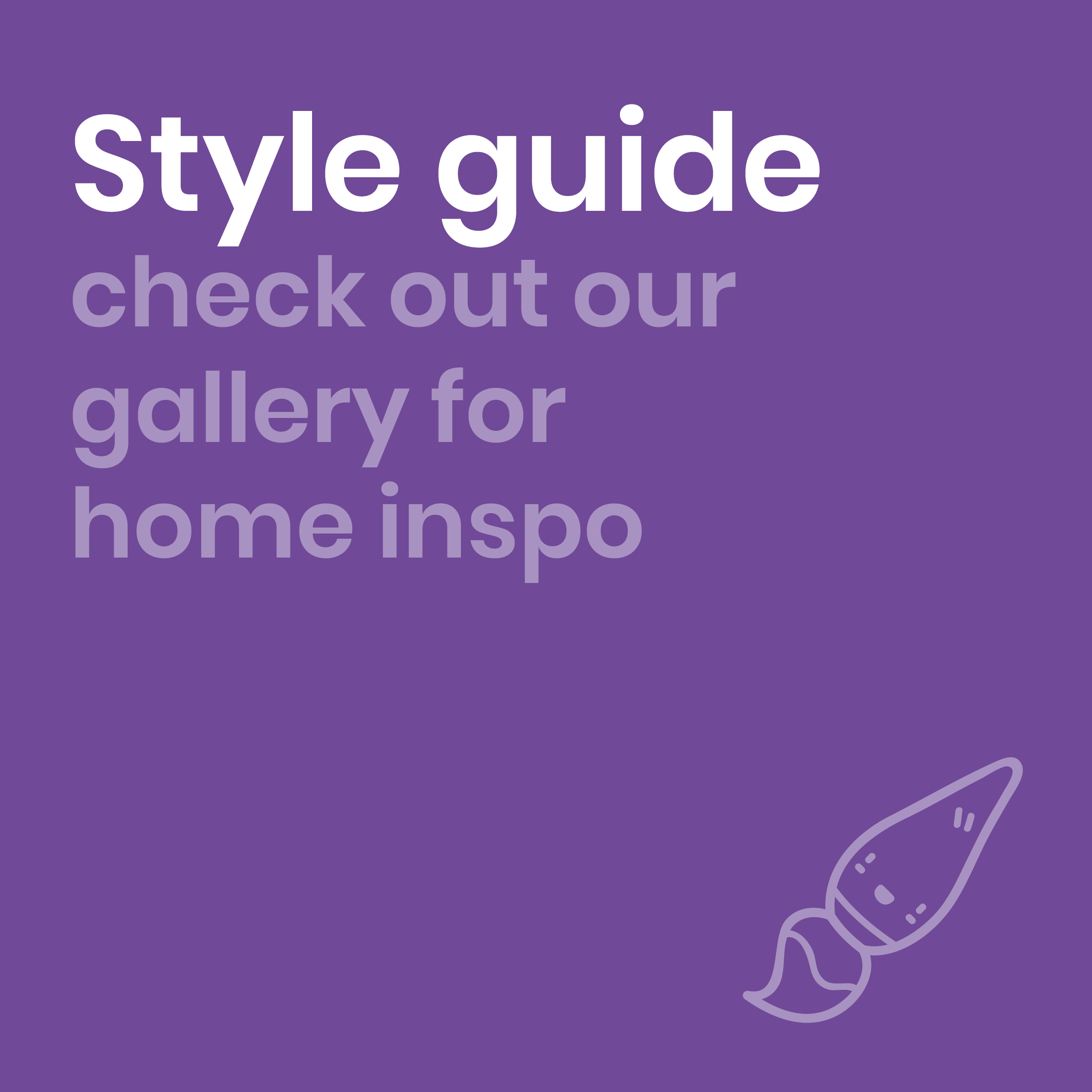 Branded style guide button by Move Homes