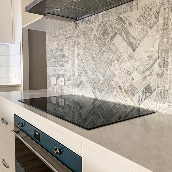 Induction cooktop in a new Perth home with Catherine Burke